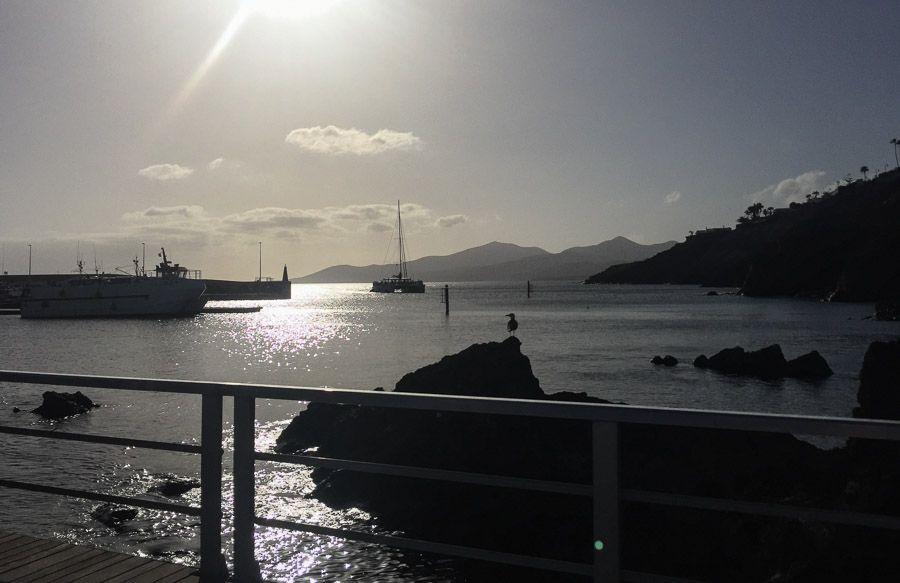Canary Islands holiday port photo