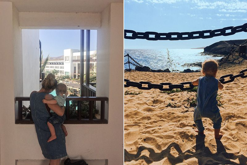 Canary Islands holiday beach photo