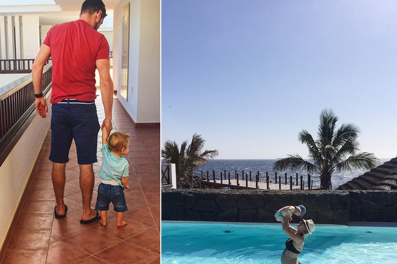 Canary Islands holiday pool photo