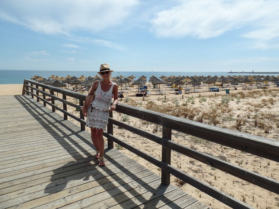 Travelling dreams - Portugal beach on sunny day