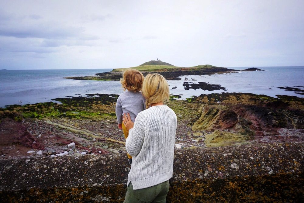 Ireland with Mother and Son